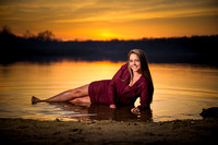 High School Senior Portrait Photography in Waterford Michigan